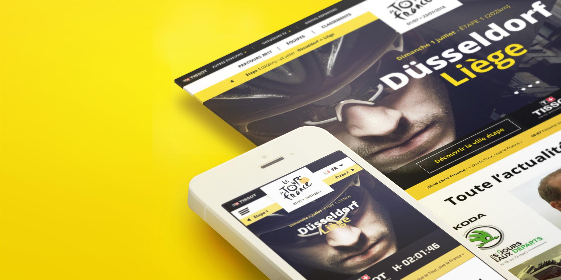 Le Tour de France par YUZ